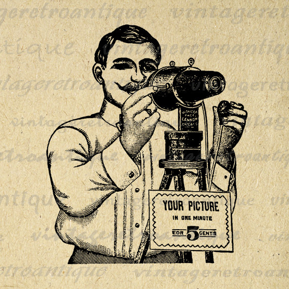 Camera Image Illustration Download Vintage Clip Art For Transfers Hq