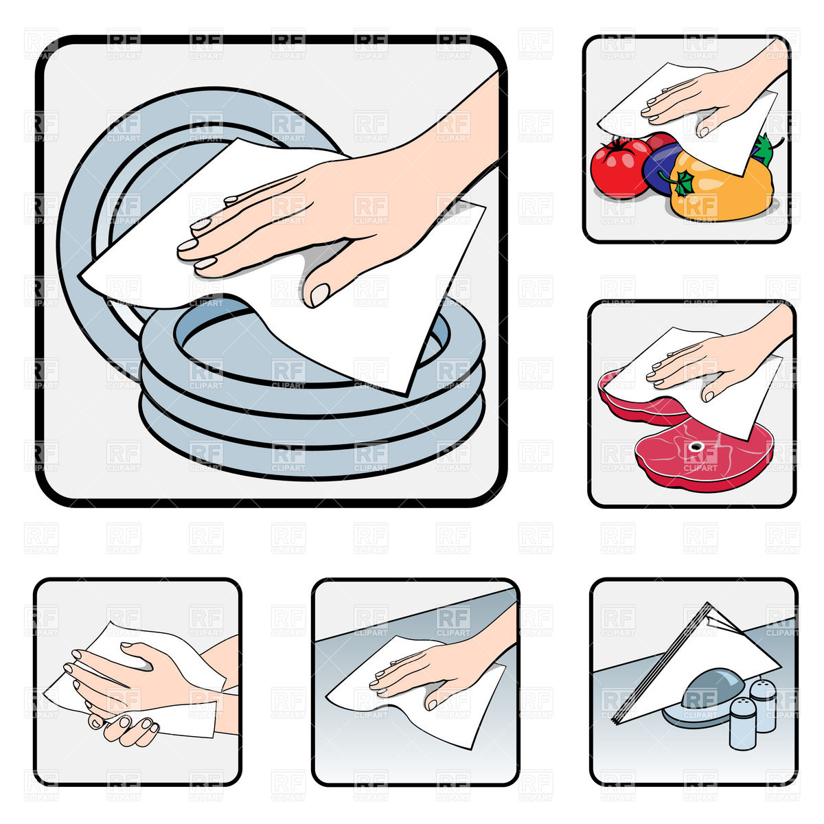 Clean Kitchen Table Clipart Clipart Suggest