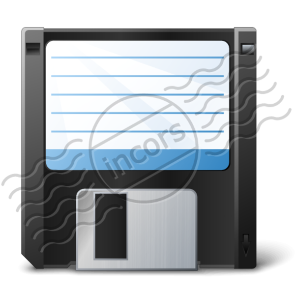 Floppy Disk 7 Image   Vector Clip Art Online Royalty Free   Public
