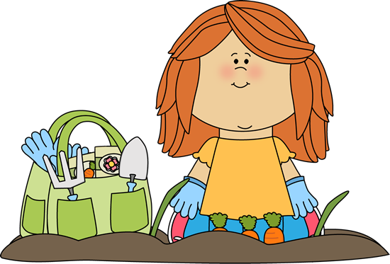 Image result for cute garden girl clipart