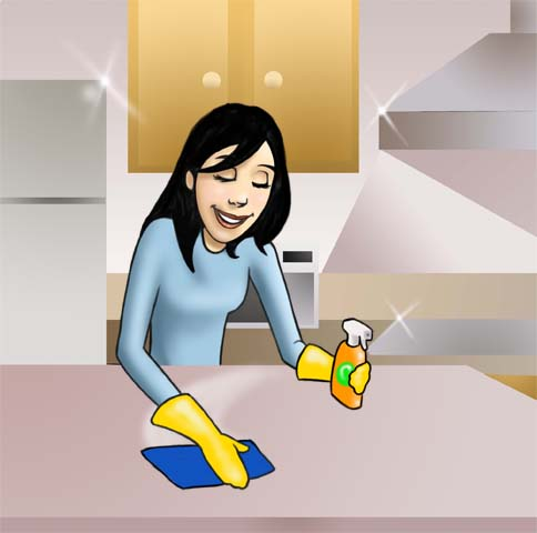How To Clean A Kitchen And Live It All Clean So When Somebody Comes