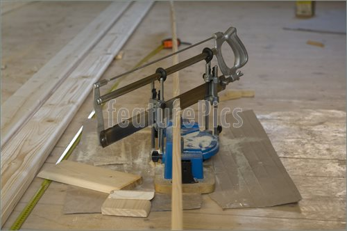 Miter Box Saw Picture  Stock Picture At Featurepics Com