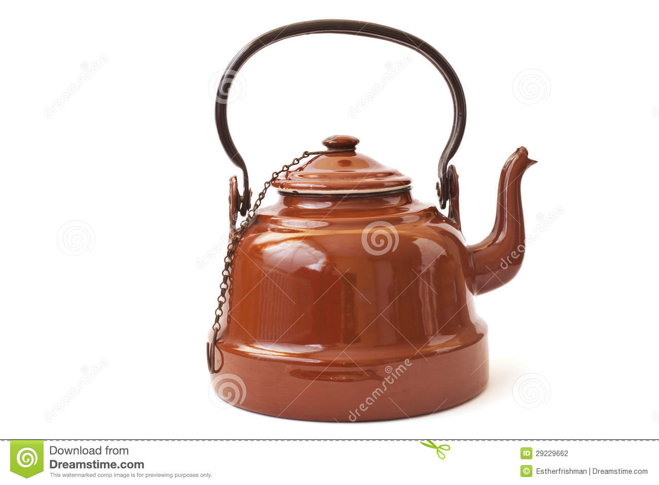 Old Brown Kettle Stock Photography   Image  29229662