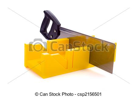 Photography Of Miter Box With Saw   A Small Yellow Miter Box Or Saw