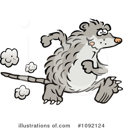 Possum Clipart  1092124   Illustration By Johnny Sajem