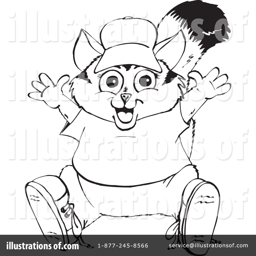 Possum Clipart  1110692 By Dennis Holmes Designs   Royalty Free  Rf