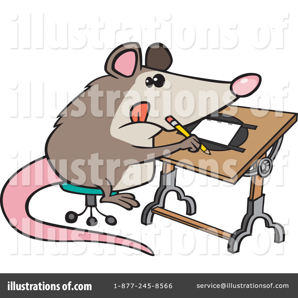 Possum Clipart  1116791 By Ron Leishman   Royalty Free  Rf  Stock