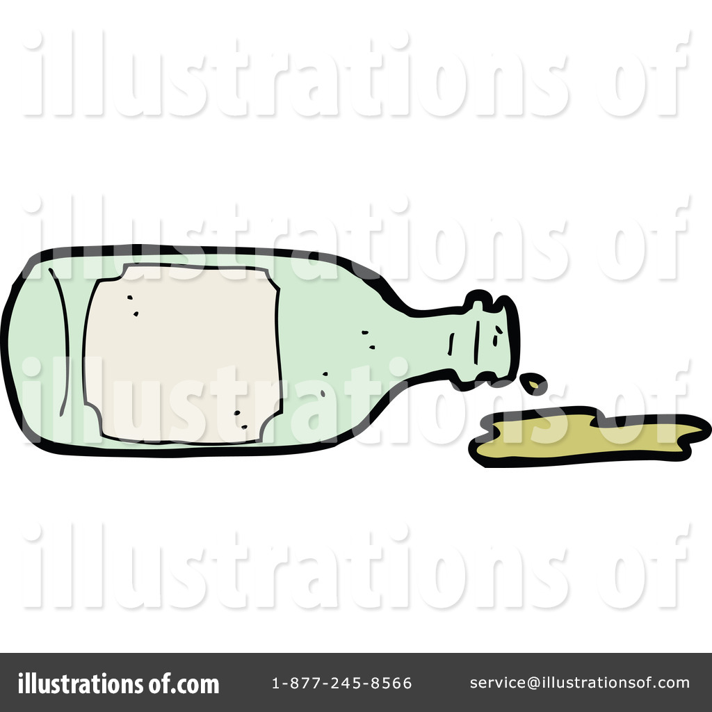 Royalty Free  Rf  Spilled Wine Clipart Illustration By Lineartestpilot