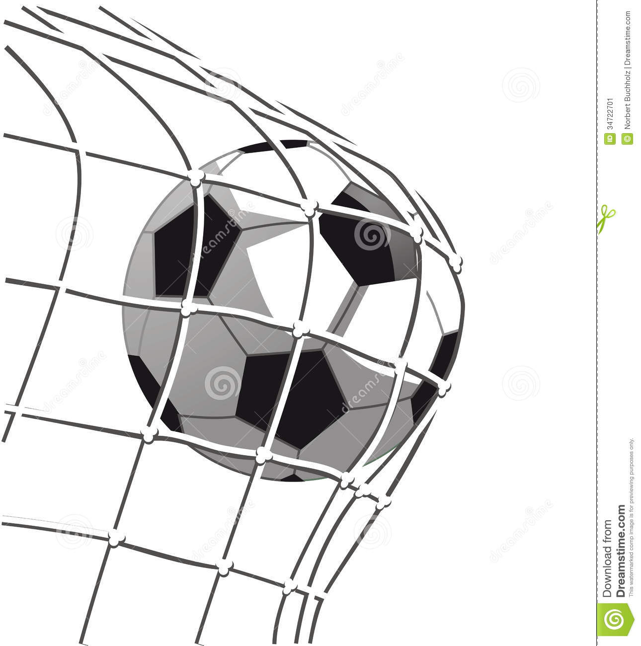 Soccer Goal Clipart - Clipart Kid