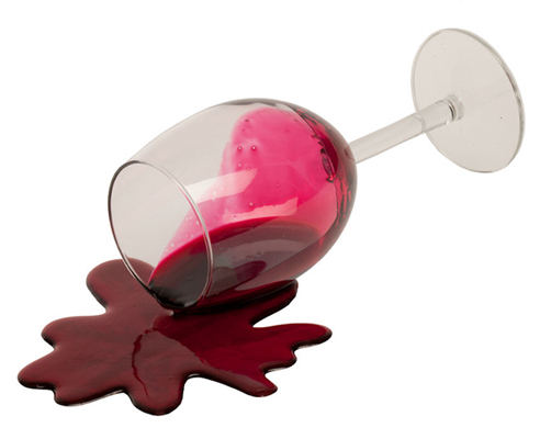 Spilling Wine Glass Clip Art Image Of Faux Spilled Wine Glass Zoom