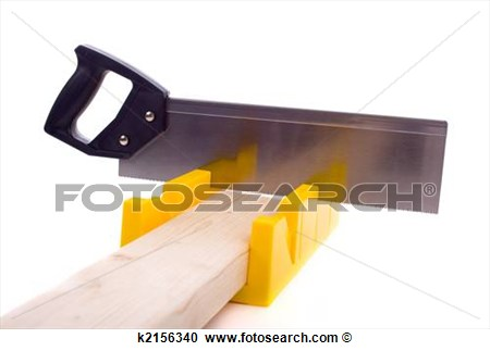 Stock Photography Of Miter Box With Saw K2156340   Search Stock Photos