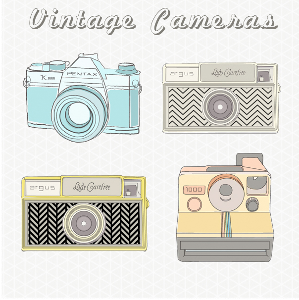 Vintage Camera Images   Vintage Camera Clip Art