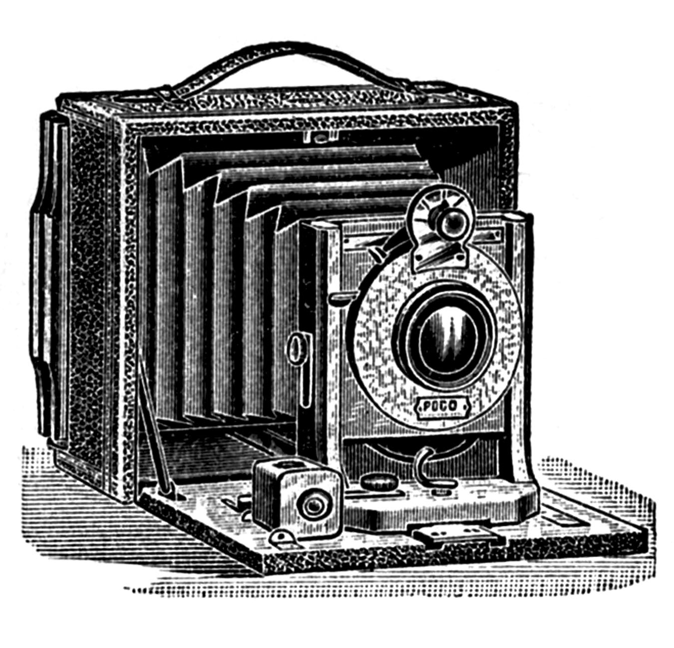 Old Camera Clipart - Clipart Kid