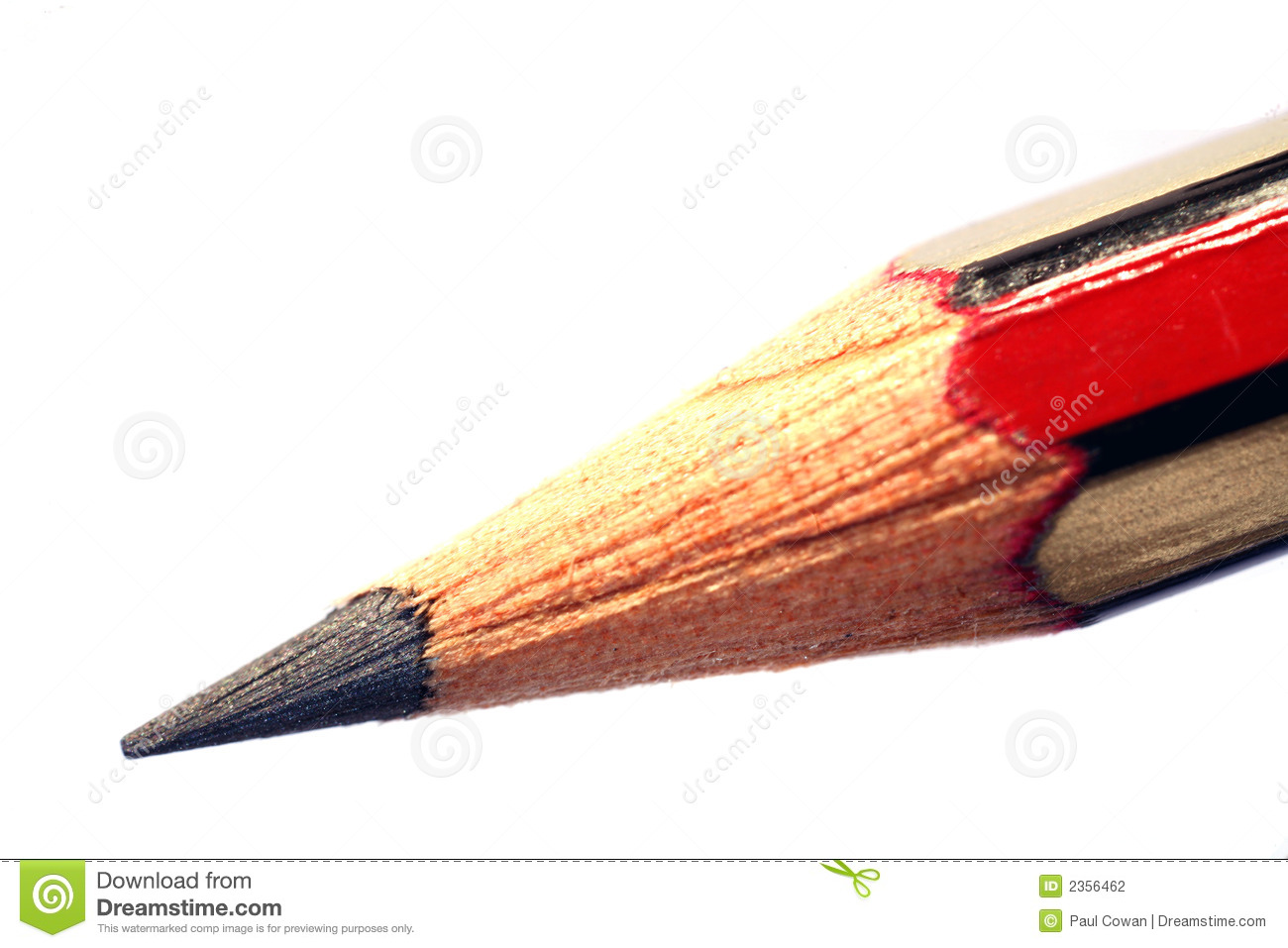An Extreme Macro Of The Point Of A Pencil  The Colour In The Point Is