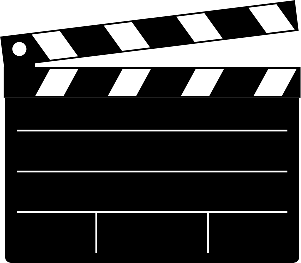 Clapper Board Clip Art At Clker Com   Vector Clip Art Online Royalty