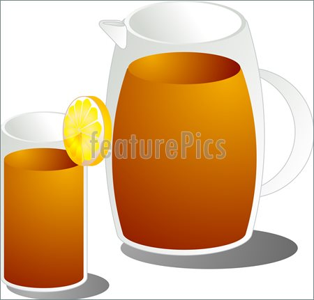 Iced Tea Clip Art Featurepics Online Iced Tea 759379