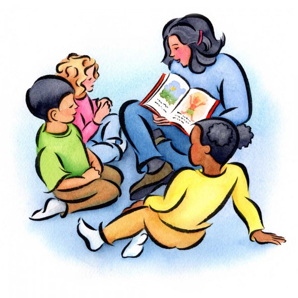 Read Aloud Clipart Habit Of Reading To Your