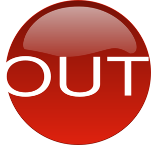 Red Out Clip Art At Clker Com   Vector Clip Art Online Royalty Free