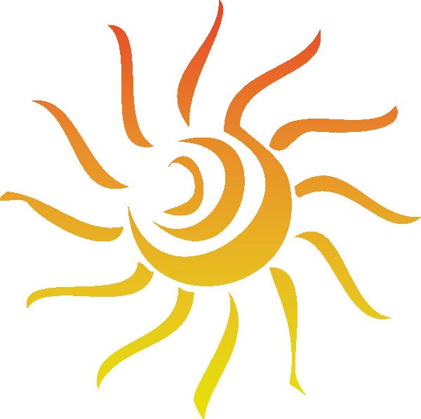 Sun Rays Clip Art At Clker Com Vector Clip Art Online Royalty Free