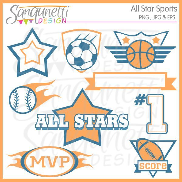 Words Clip Art Party Printables Words Art Sports Clipart All
