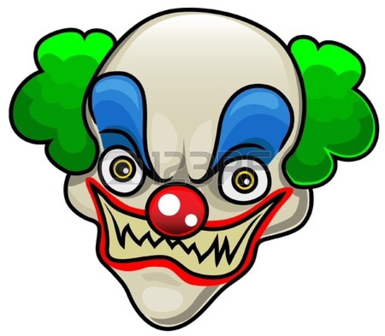 Halloween Clown Clipart - Clipart Kid