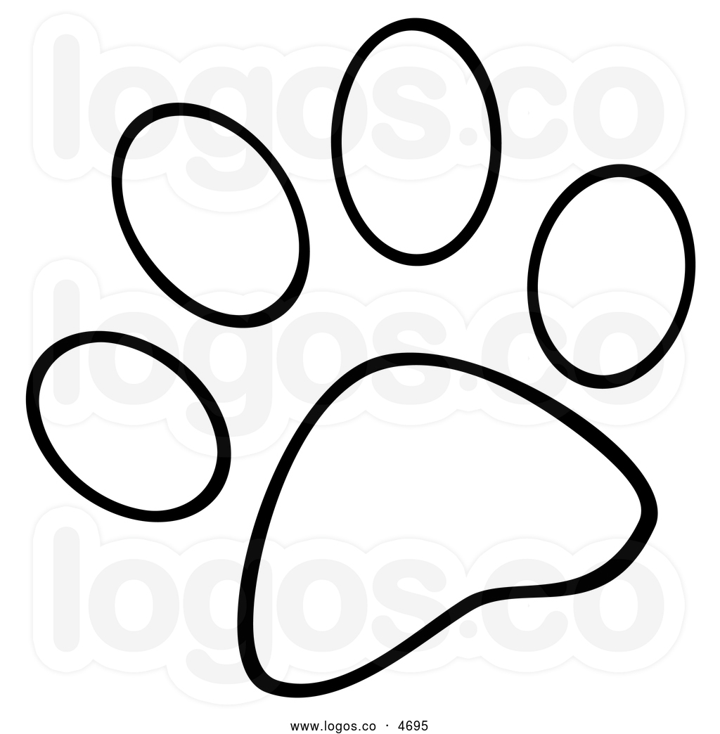 paw print coloring pages - photo#21