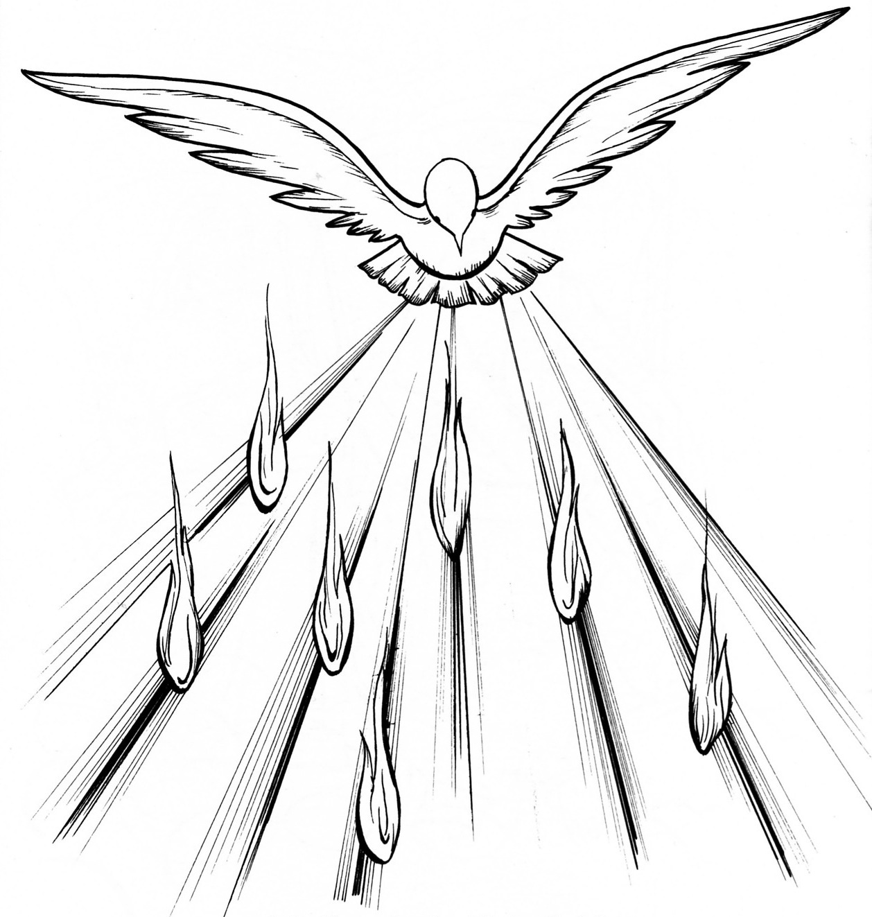 Bp Blogspot Com  Pentecost Tongues Of Fire   Dove And Tongues Of Fire