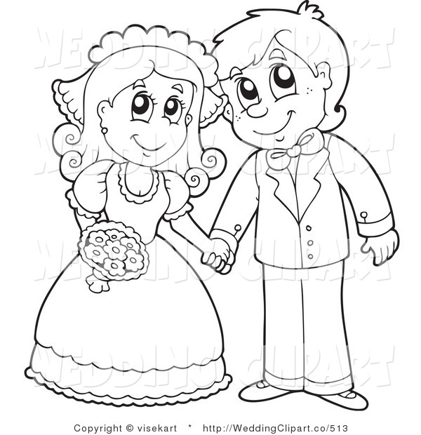 Line Drawing Wedding Couple : Married black couple clipart suggest