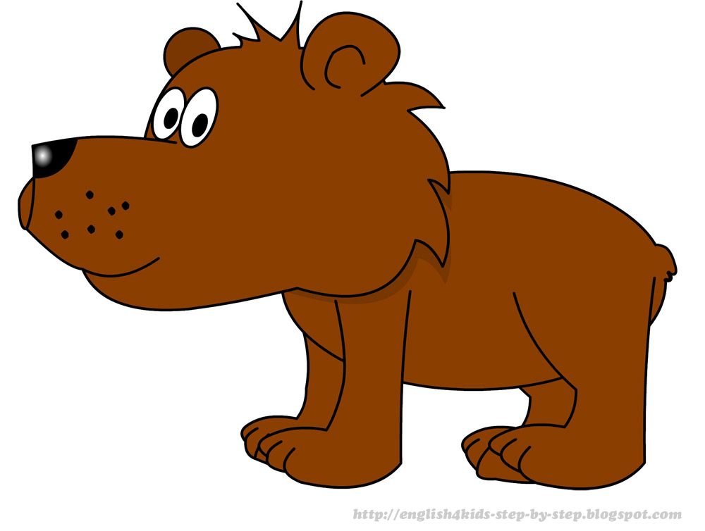 Cartoon Bear Clipart - Clipart Kid