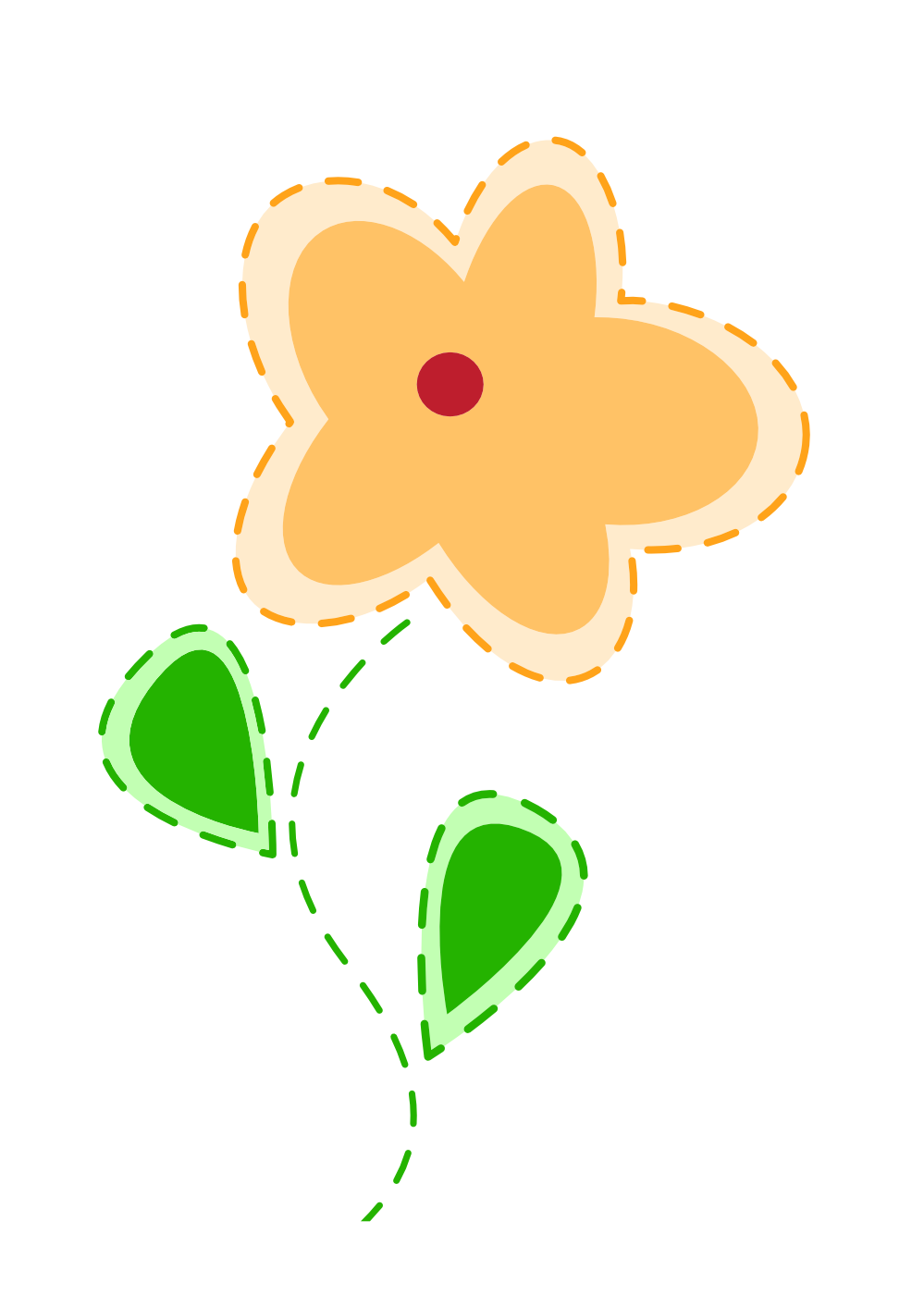 Clipartist Net   Clip Art   Easter Flower 2 Plant Valentine Svg