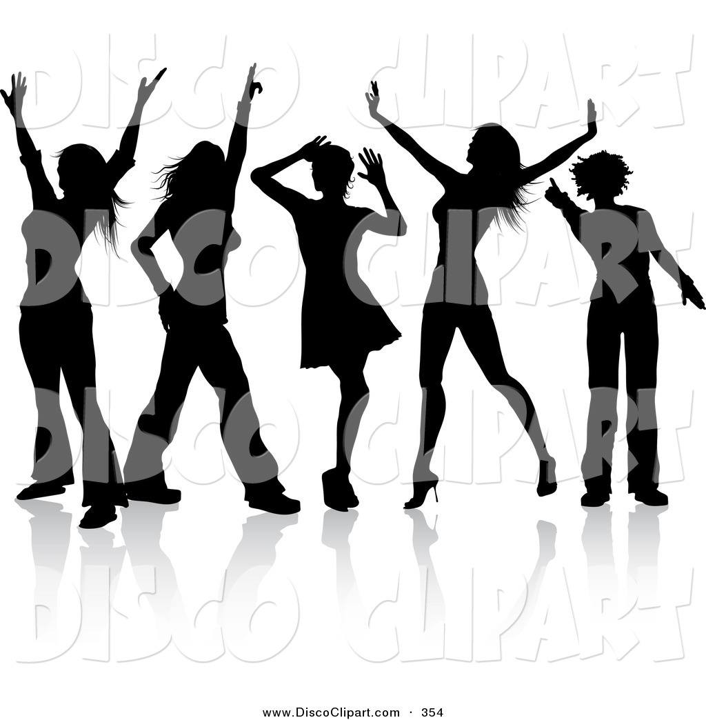 Dance Team Clipart Music Clip Art Of A Group Of