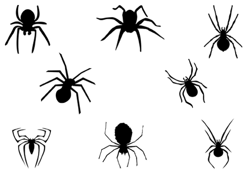 Spider Silhouette Clipart - Clipart Kid