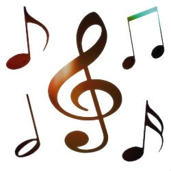 Free Clip Art   Music Notes
