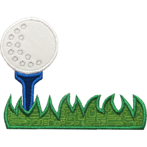 golf ball border clip art - photo #12