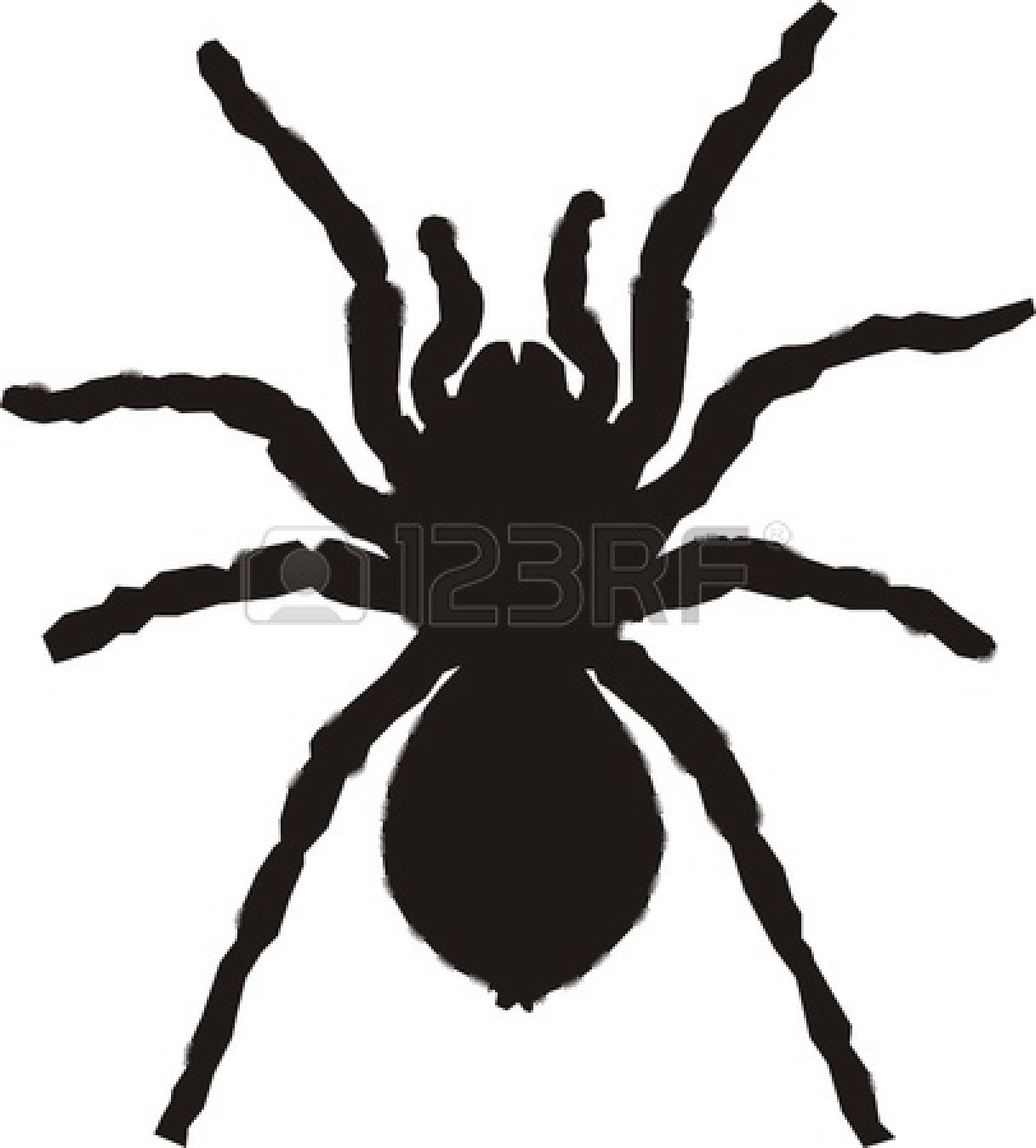 Spider Silhouette Clipart - Clipart Suggest