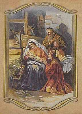 Nativity Vintage Old Designs Clipart - Clipart Suggest