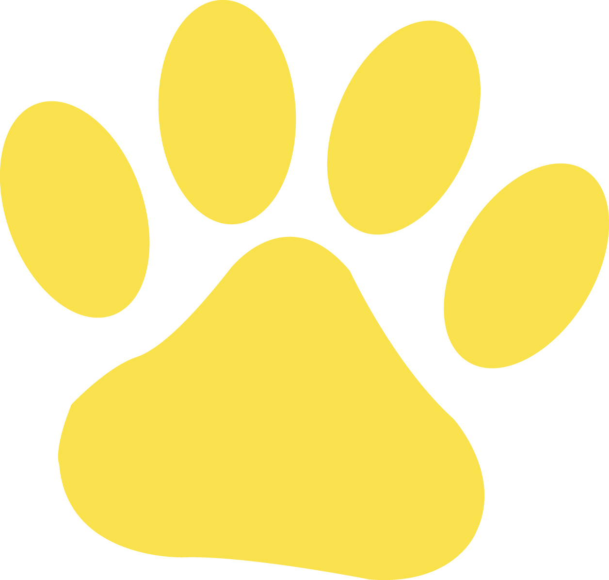 Paw Print Image   Vector Clip Art Online Royalty Free   Public Domain