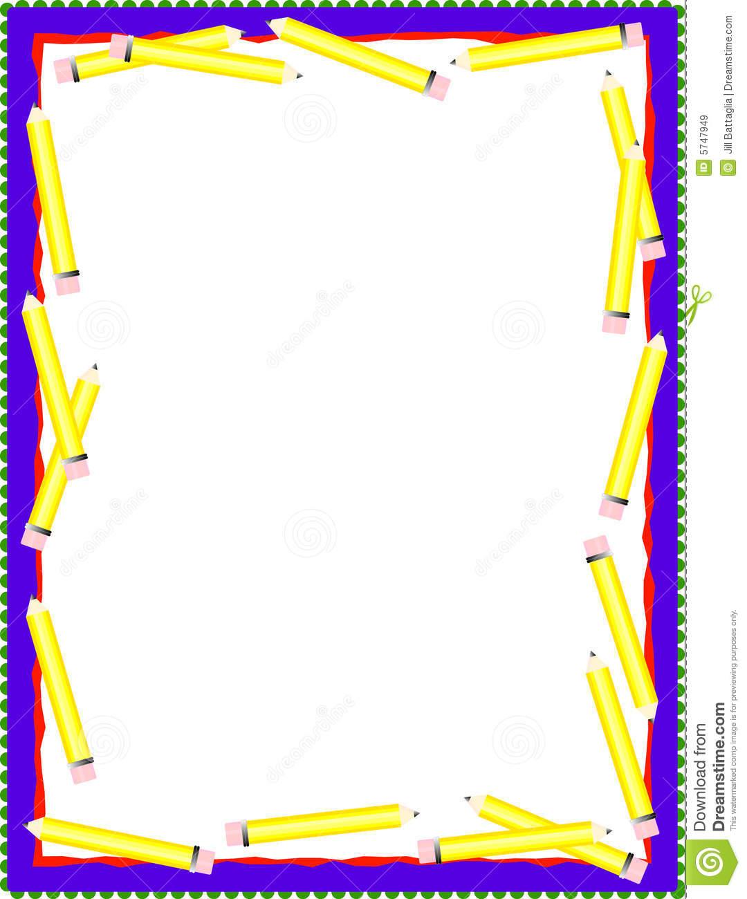 Free Pencil Borders
