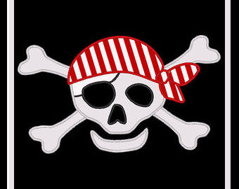 Pirate Skull Clipart - Clipart Kid