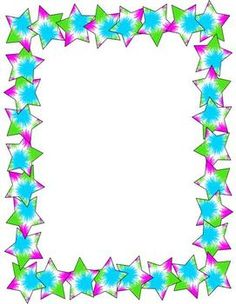 Star Borders And Frames