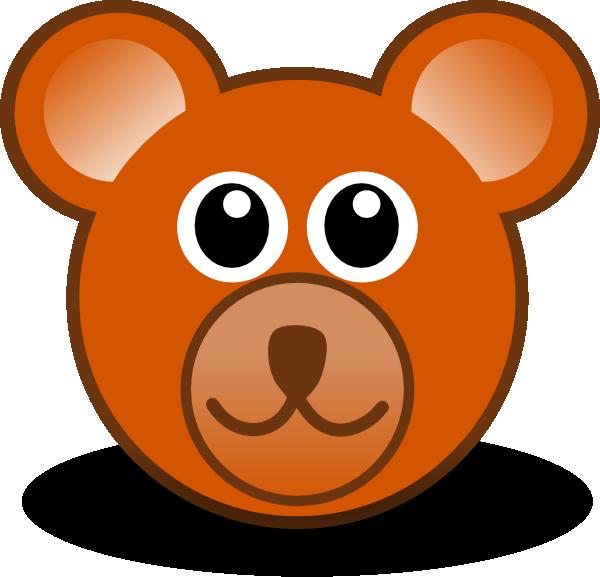 Teddy Bear Face Clip Art At Clker Com   Vector Clip Art Online
