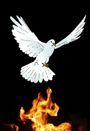 Tongues Of Fire Holy Spirit Clip Art Praying In Tongues Is Probably