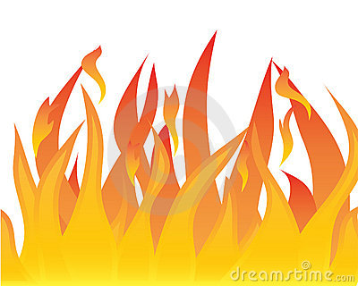Tongues Of Flames Stock Image   Image  8313371