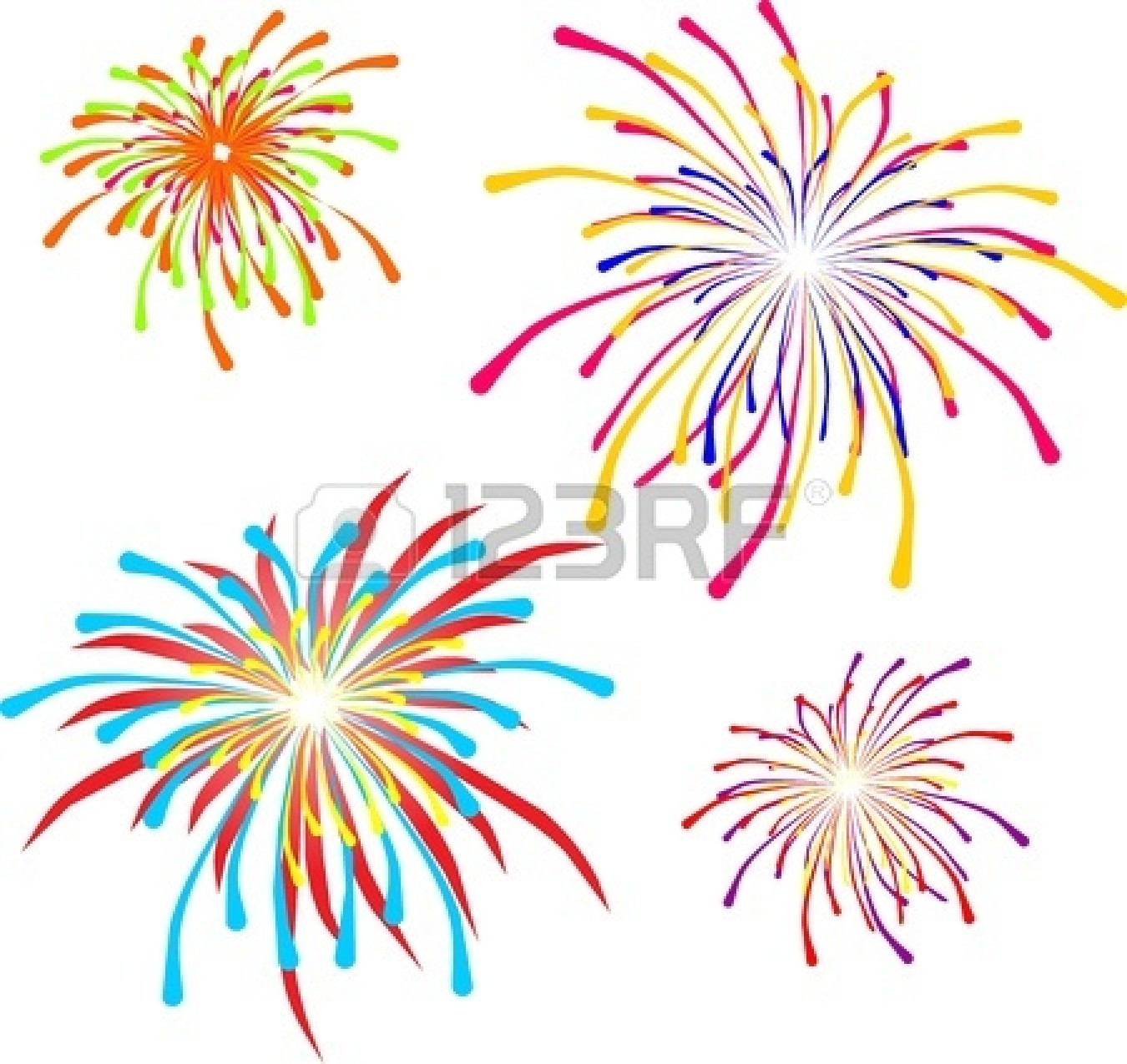 4th Of July Fireworks Background 19757674 Fireworks Independence Day