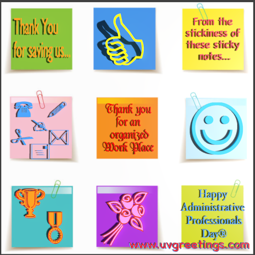 Admin Pro Day Sticky Notes 0 Png