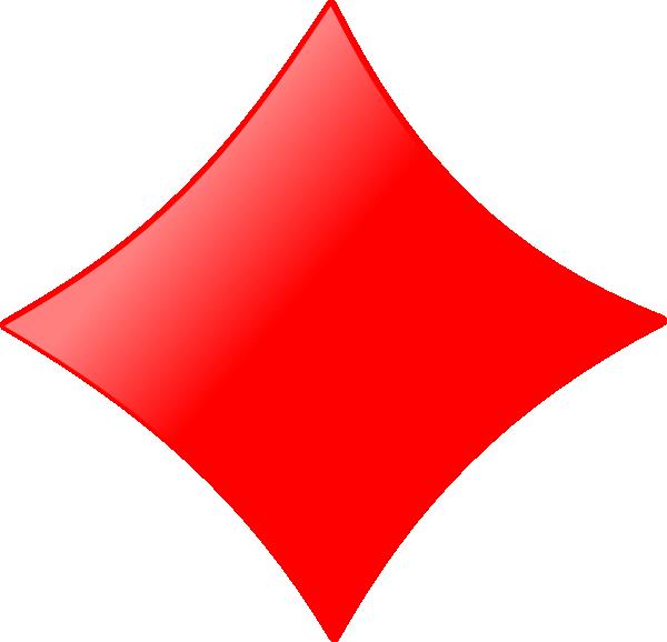 Card Figures   Diamond Clip Art At Clker Com   Vector Clip Art Online