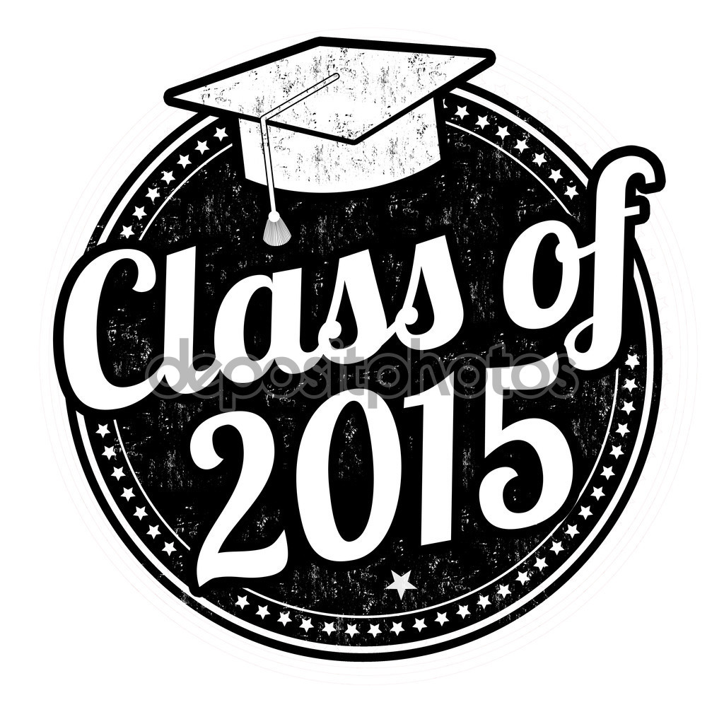 Class Of 2015 Stamp   Stock Vector   Roxanabalint  60681937