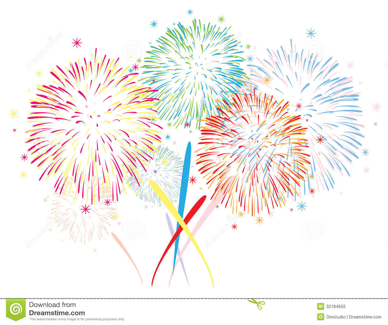 Colorful Anniversary Fireworks Background Mr No Pr No 4 5438 13