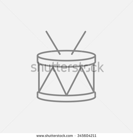 Dark Grey Icon Isolated On Light Grey Background    Stock Vector