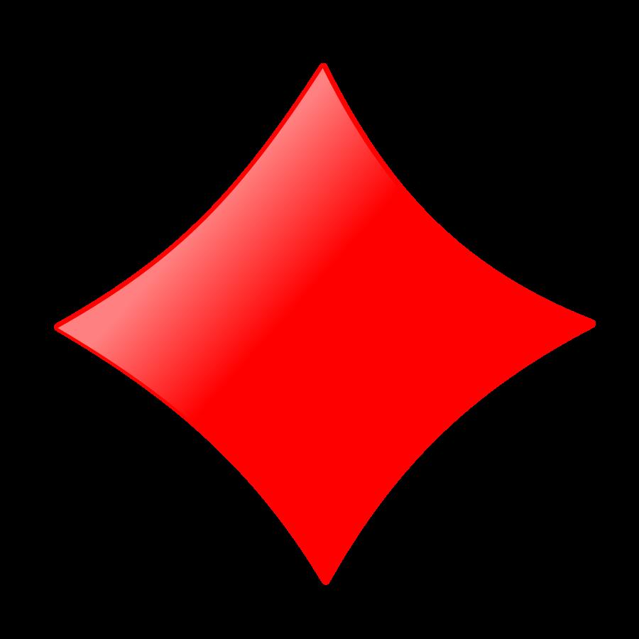 Diamond Card Clipart - Clipart Kid